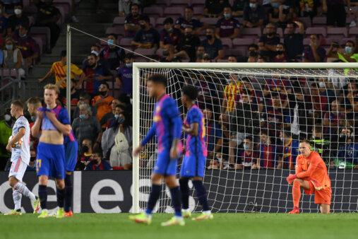 Barcelona 0-3 Bayern Munchen: UEFA Champions League 14-09-2021