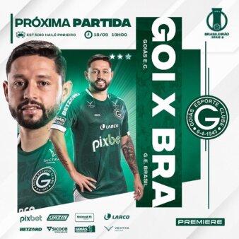 Goiás x Brasil de Pelotas guia