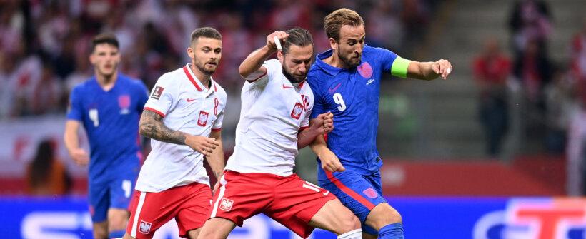 Eliminatórias: Kane marca, mas Inglaterra empata com a Polônia e perde os 100%