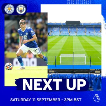 Leicester x Manchester City guia