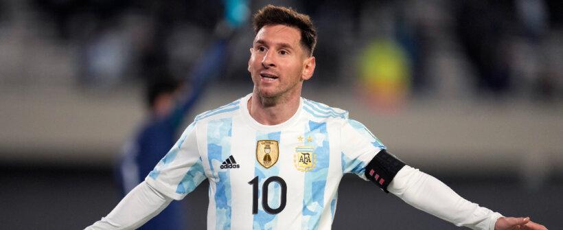 Mais uma! Além de artilharia, Messi alcança outra marca inédita pela Argentina nas Eliminatórias