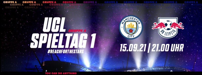 Manchester City x RB Leipzig guia