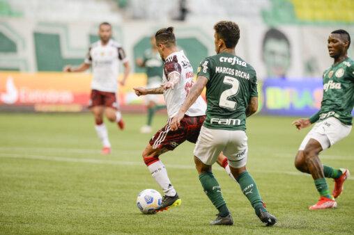 Michael em Flamengo x Palmeiras