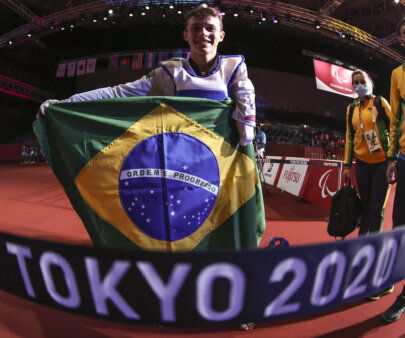 Nathan Torquato ganhou um ouro histórico no taekwondo nas Paralimpíadas de Tóquio 2020