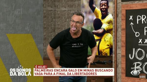Neto falou sobre a seleção brasileira.