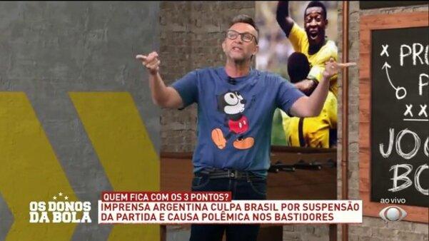 Neto detona Brasil x Argentina