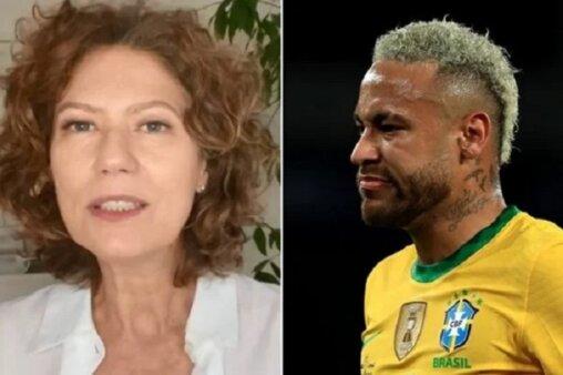 Neymar e Patrícia Pillar