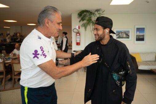 Neymar e Tite