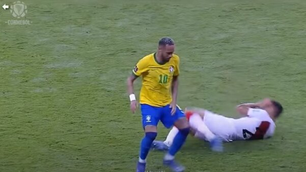 Conmebol VAR - Brasil x Peru