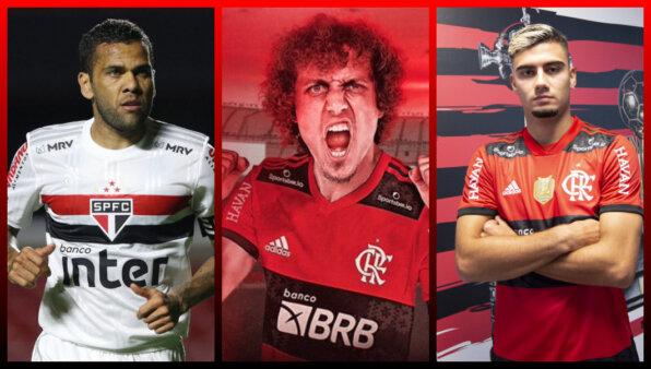 Notícias do Flamengo: Daniel Alves, David Luiz Anvisa