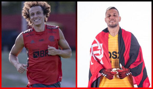 Notícias do Flamengo: Diego Alves e David Luiz