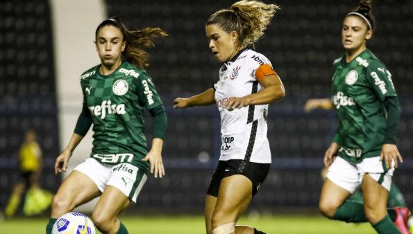 Palmeiras x Corinthians no Brasileirão Feminino