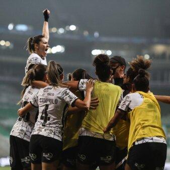 Corinthians vence Palmeiras final Brasileirão Feminino