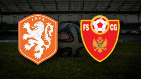 Holanda x Montenegro