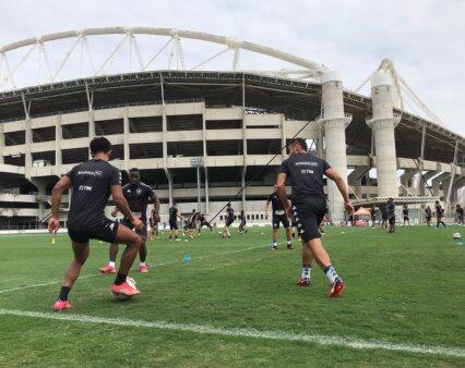 Provável escalação Botafogo