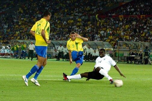 Rivaldo falou sobre Ronaldo.