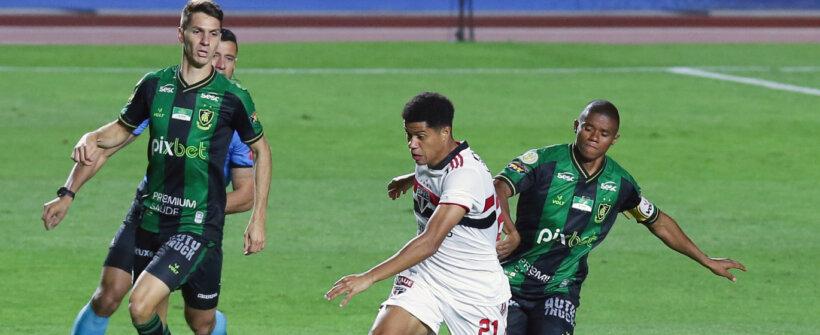 Brasileirão: São Paulo e América-MG empatam em jogo atrasado do 1º turno