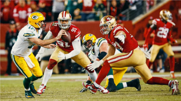 49ers x Packers