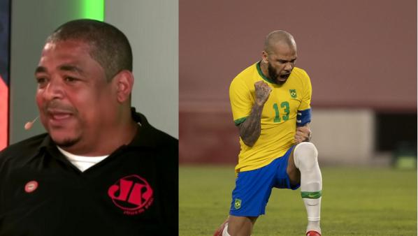 Vampeta falou sobre Daniel Alves.