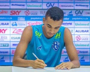 Júlio Cézar renovou contrato, mas está de saída - imagem: Jorge Luiz Totti/Paysandu