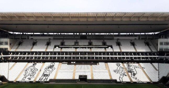 Corinthians x Palmeiras: mosaico de Edílson foi vetado pela PM