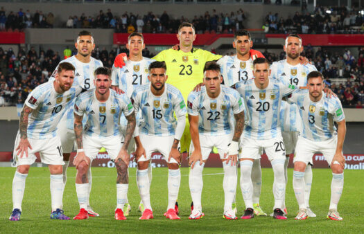 Argentina x Peru guia