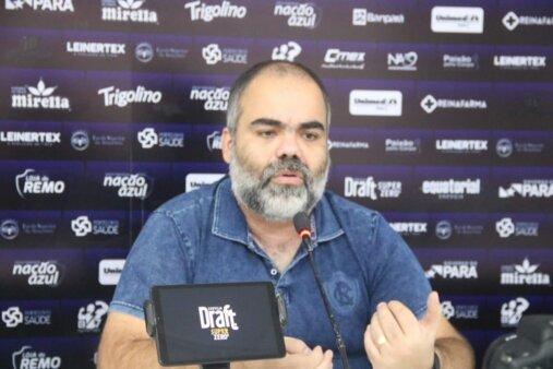 Fábio Bentes, presidente do Clube do Remo