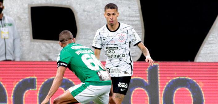 Corinthians é um dos times que menos finalizam no Brasileirão 2021