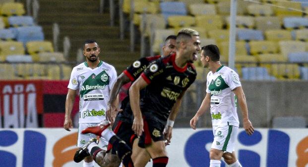 Andreas Pereiras em Flamengo x Juventude