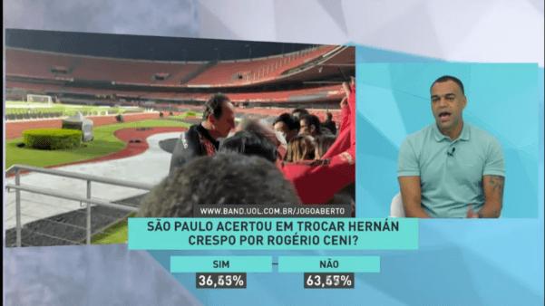 Jogo Aberto: Denílson fala sobre Rogério Ceni no São Paulo