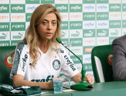 Leila pode viabilizar mudanças no Palmeiras.