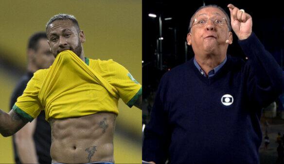 Neymar x Galvão Bueno