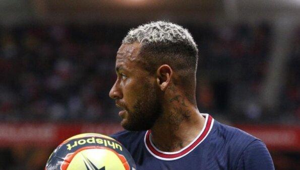 neymar psg paris saint germain frança rennes derrota
