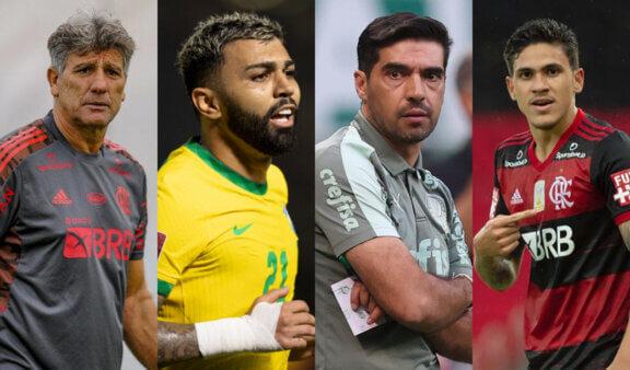 Notícias: Palmeiras e Flamengo