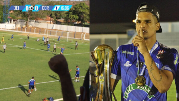 oeirense futebol vaia arbitragem juiz torcida piaui