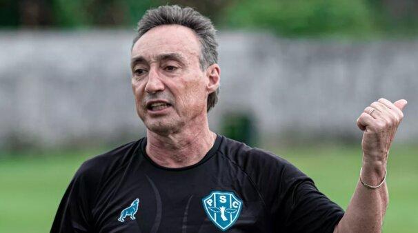 Roberto Fonseca em ação pelo Paysandu