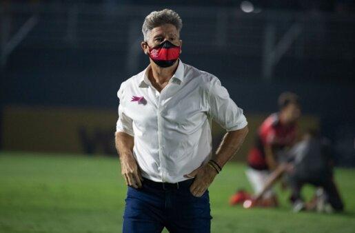 Flamengo teve dia movimentado.