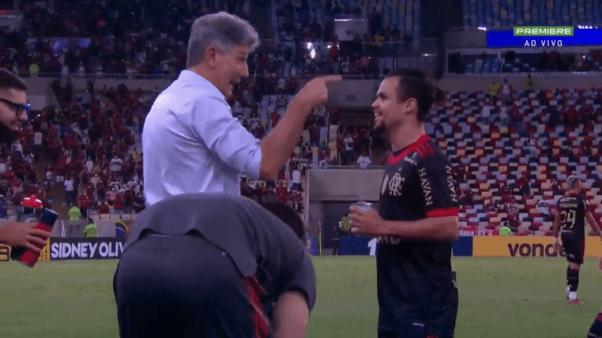 Renato Gaúcho tirou onda após golaço do Flamengo.