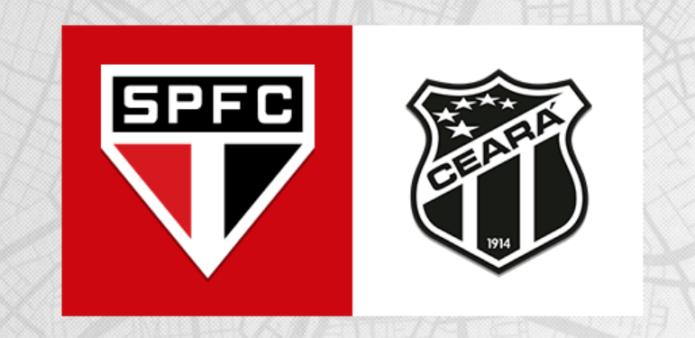 São Paulo x Ceará assistir ao vivo