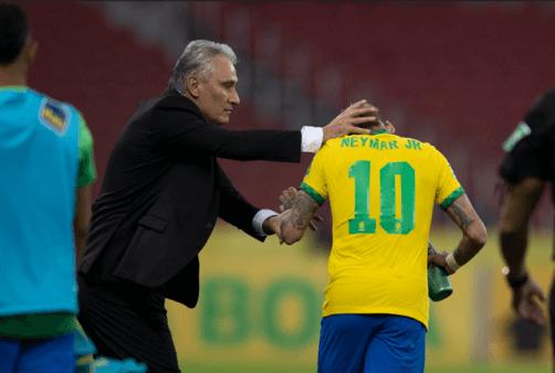 Neymar foi defendido por Tite.